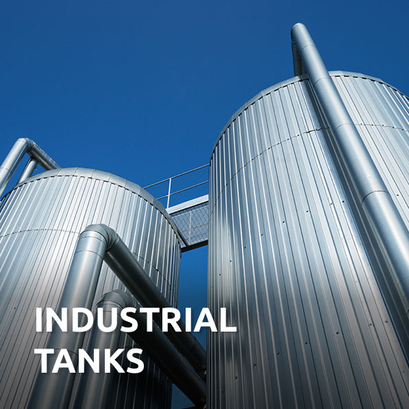 Industrial Tank Applications | Saint-Gobain Abrasive Materials